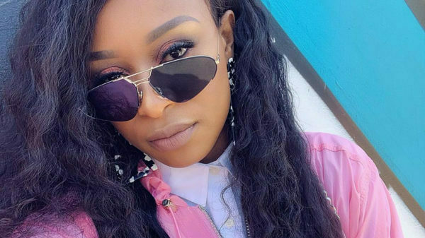 DJ Zinhle showcases long, curly hair at Hyundai i30 launch in Franschhoek