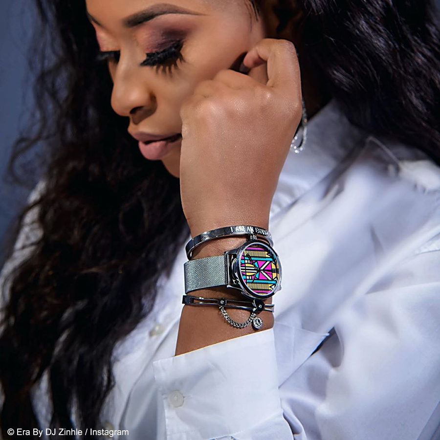 DJ Zinhle's Era by DJ Zinhle store closed due to protest action