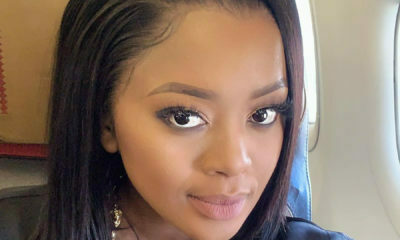 Lerato Kganyago responds to Twitter user warning her against nuts, suggesting she is trying to fall pregnant