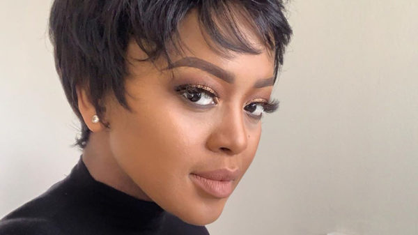Media personality, Lerato Kganyago, shares the latest style from her eyelash range