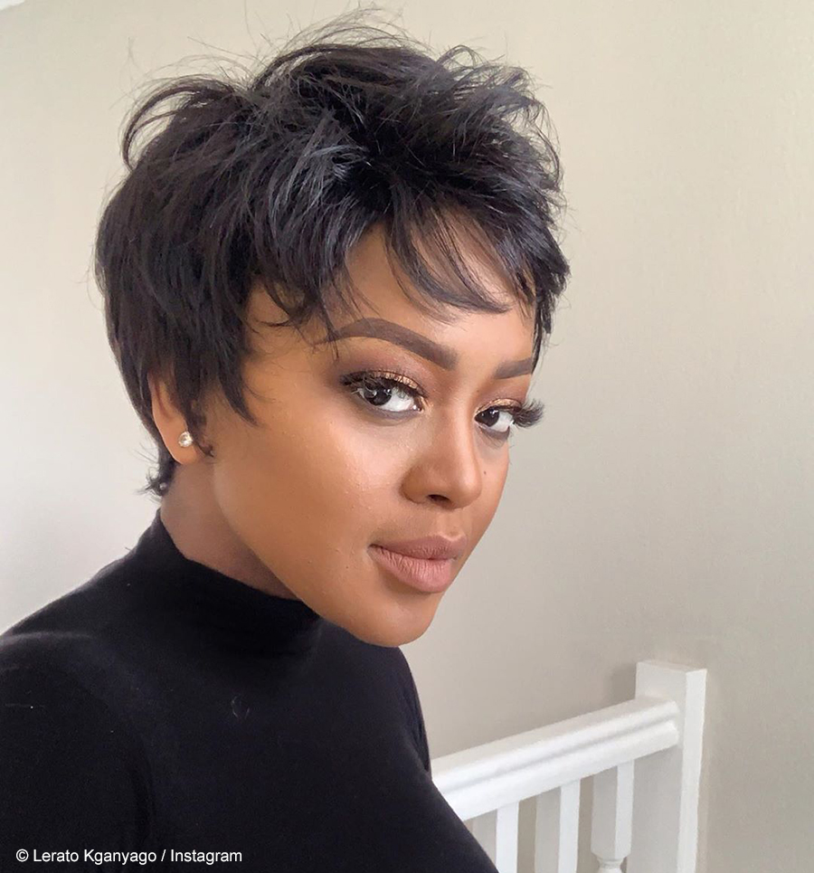 Media personality, Lerato Kganyago, shares the latest style from her eyelash range