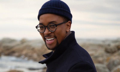 Maps Maponyane pairs Gucci t-shirt with traditional Zulu garb