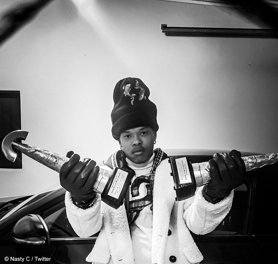 Nasty C announced as the most streamed artist in South Africa by Apple Music