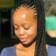 Ntando Duma wears animal print bikini in Cape Town