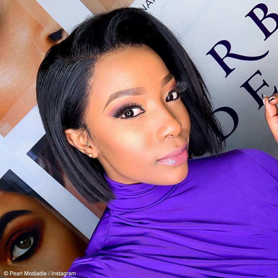 Pearl Modiadie cautions social media users against premature pregnancy congratulatory messages