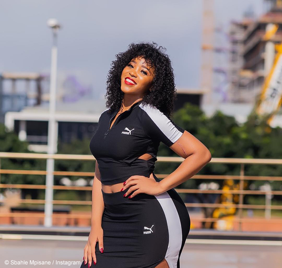 Sbahle Mpisane warns of fake Twitter account operating under her name