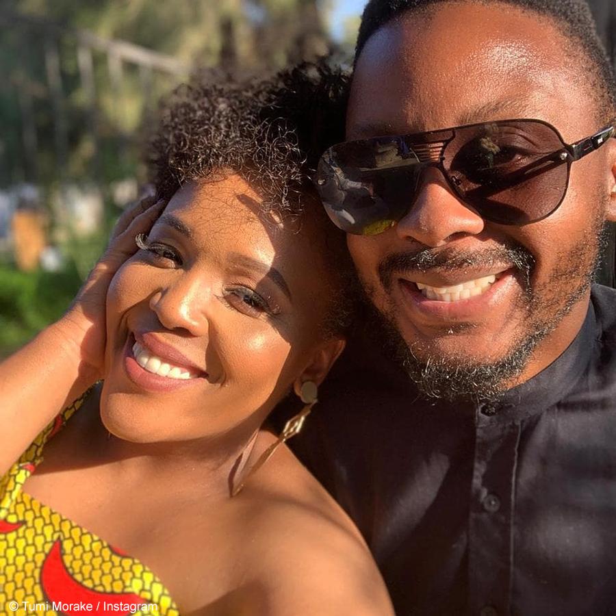 Tumi Morake and Mpho Osei-Tutu