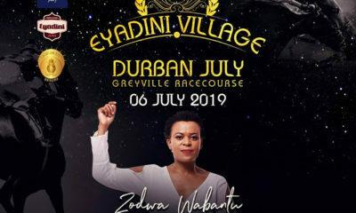 Zodwa Wabantu at Durban July Eyadini Village