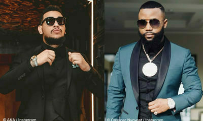 AKA and cassper nyovest, proclaims himself a proud South African