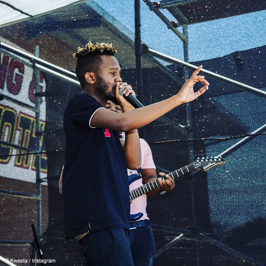 Kwesta lends his voice to CAPASSO's new awareness song
