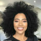Amanda du-Pont showcases voluminous afro at Revolve fashion event