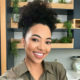 Amanda du-Pont has real diamonds on her French Fade manicure