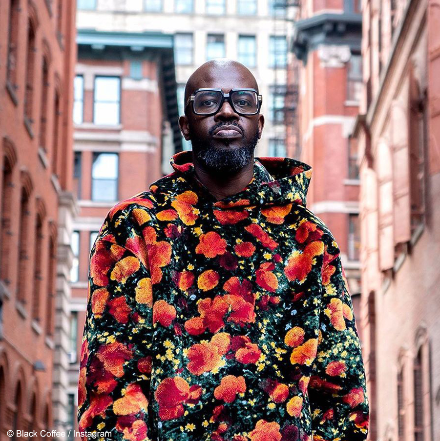 Black Coffee covers the August issue of British digital magazine, Mixmag