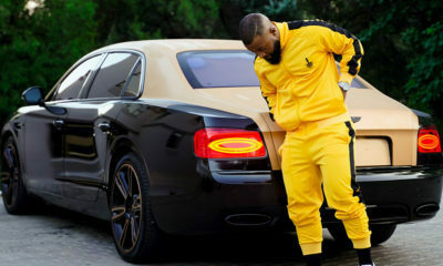 Cassper Nyovest shares an image of his luxury vehicle to motivate his fans