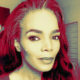 Connie Ferguson receives cool laser skincare treatment in Beverley Hills