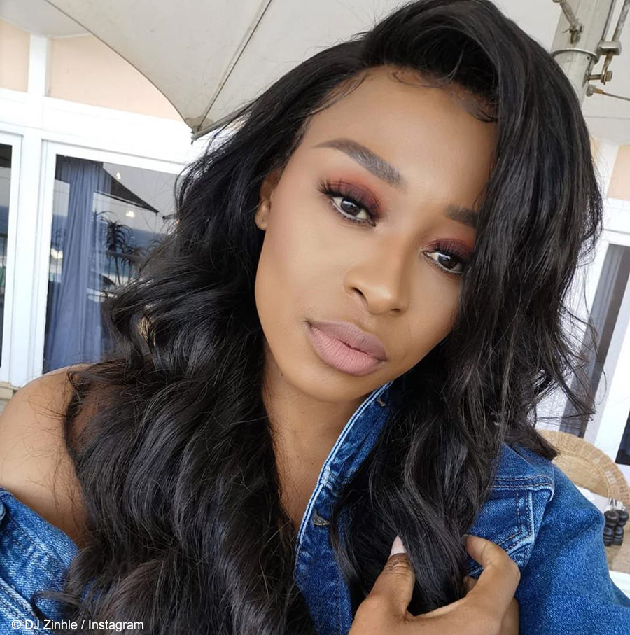 DJ Zinhle opens up about AKA's cheating in an interview with Enhle Mbali