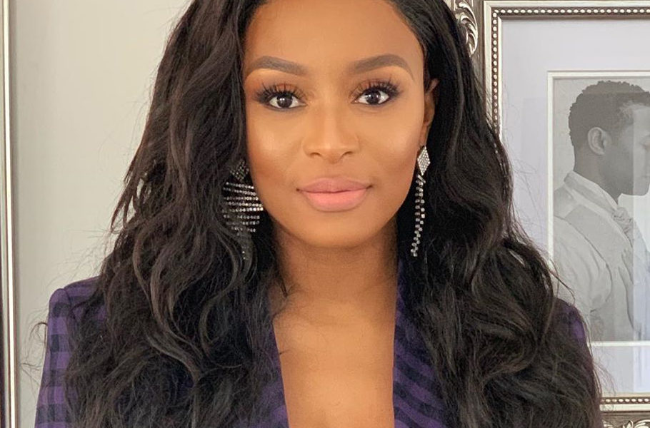 DJ Zinhle wears head-to-toe red ensemble to Joburg Polo In The Park - JustNje
