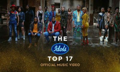Idols SA: The Top 17 take to the stage for the first round of the live performances