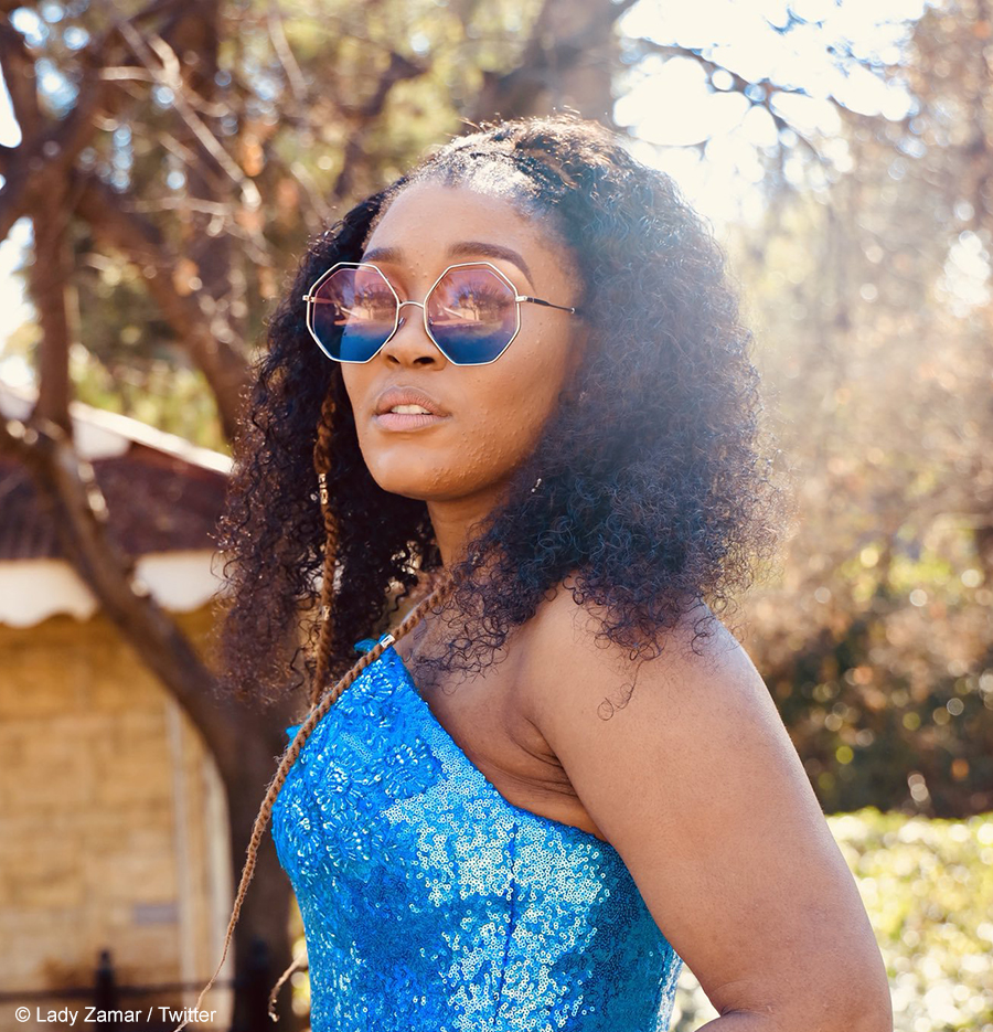 Lady Zamar admits to recording telephonic and text exchanges as evidence