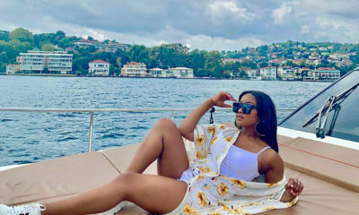Media personality, Lorna Maseko, soaks up the sun in summer outfits while in Istanbul