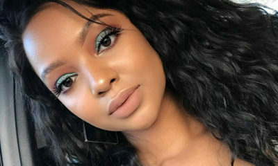 Mihlali Ndamase shares her Glamour's Most Glamourous Awards make-up look