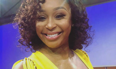 Sports presenter, Minnie Dlamini Jones' legs rated one of her best features by social media users