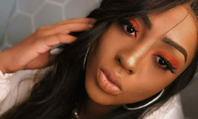 Nadia Nakai hands out free copies of her debut album in Ojuelegba, Nigeria
