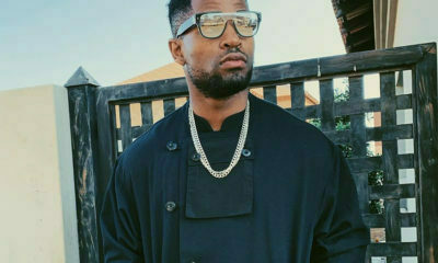 Social media swoons over Prince Kaybee's latest all-black outfit