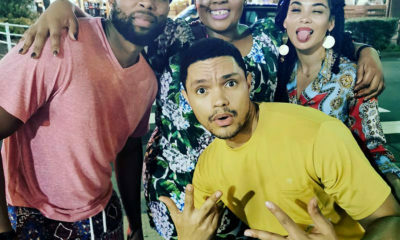 Trevor Noah travels to Japan with Anele Mdoda and Sizwe DhlomoTrevor Noah travels to Japan with Anele Mdoda and Sizwe Dhlomo