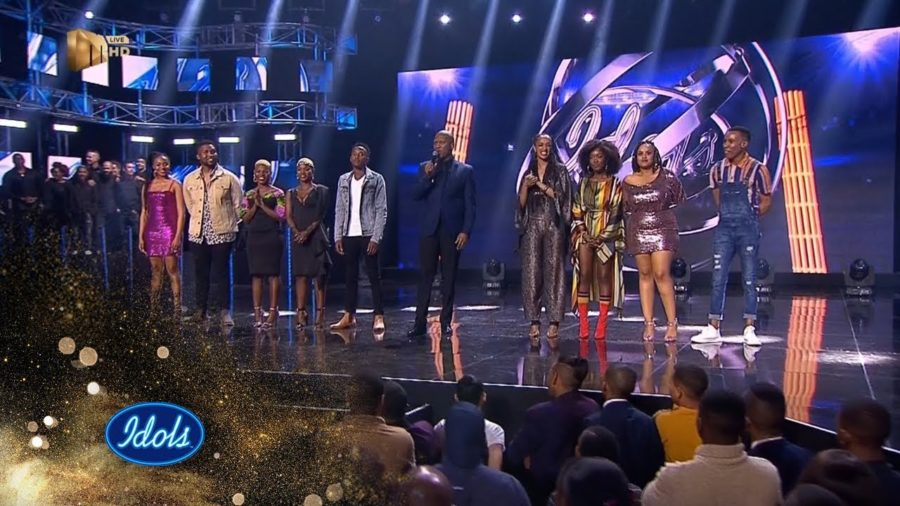 Idols SA: Group A performs for the live audience