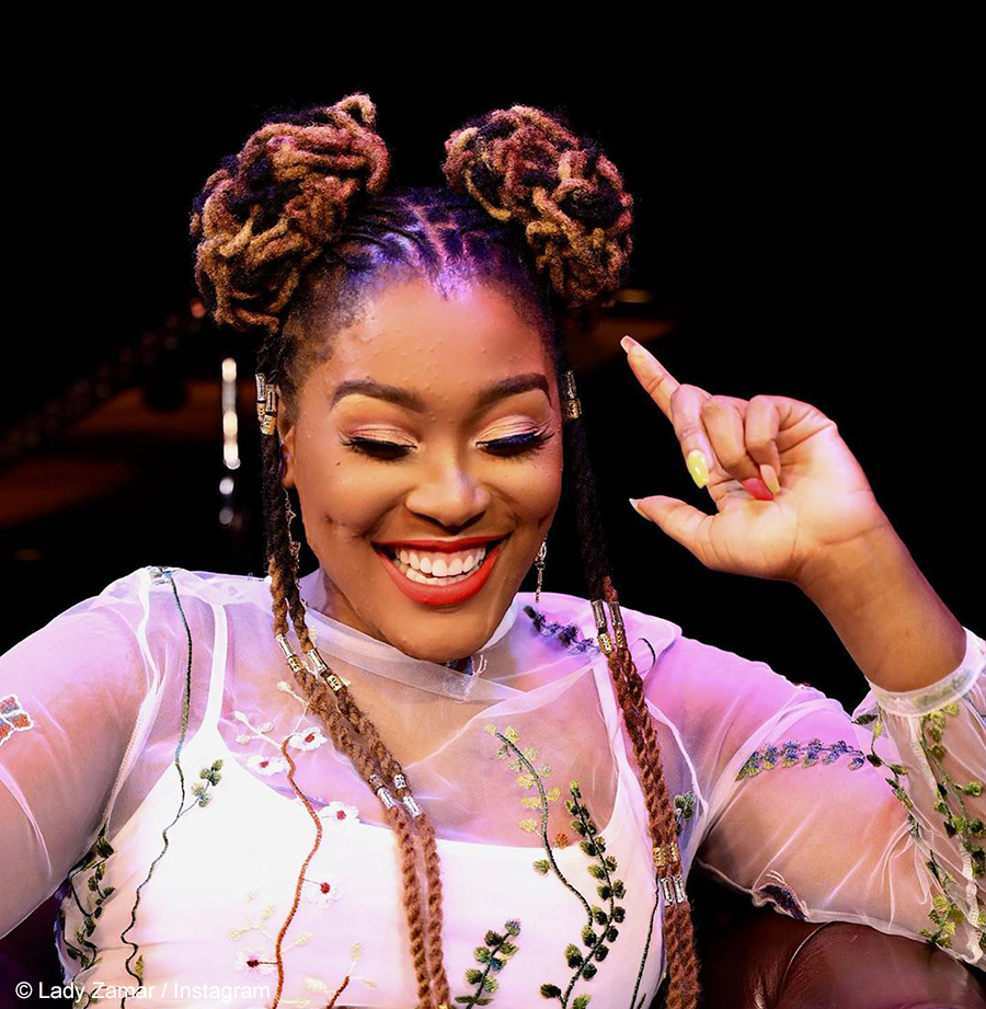 Lady Zamar Denies Claims By Twitter User About Current State Of Her Relationship With Sjava Justnje