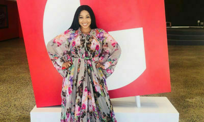 Ayanda Ncwane and Hulisani Ravele prove that florals are popular this Spring