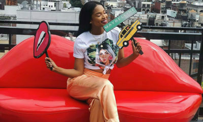 Ayanda Thabethe partners with Maybelline for its tenth New York Fashion Week
