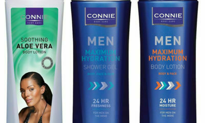 Connie Ferguson details products from her body care range, Connie Bodycare