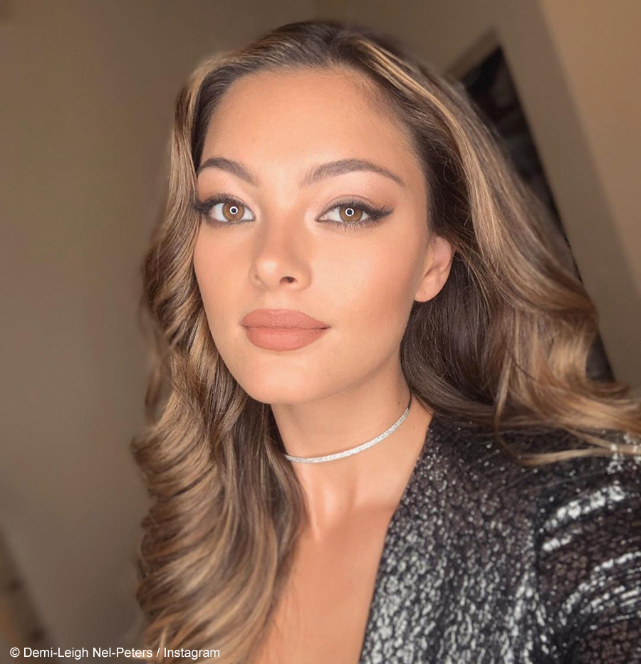Demi-Leigh Nel-Peters shares her look from the MaXhosa by Laduma showcase