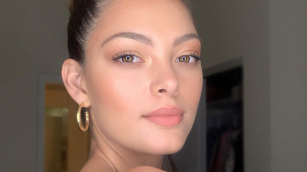 Demi-Leigh Nel-Peters shows fans how to achieve the perfect bun