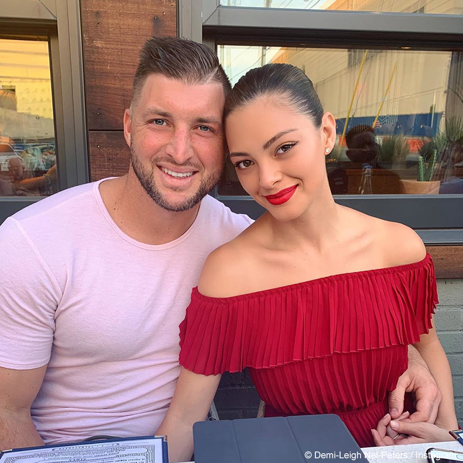 Demi-Leigh Nel-Peters expresses excitement for upcoming wedding to fiancé, Tim Tebow