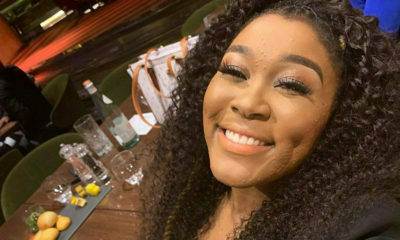 Lady Zamar 's curly hairdo gets a nod from social media users