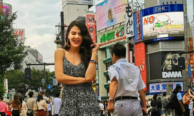 Lalla Hirayama shares the first image from her work trip in Japan