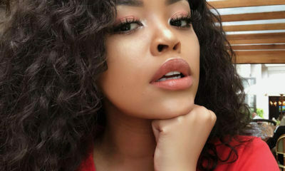 "Lerato Kgamanyane opens up about her natural hair, saying ""it's not the socially desired length"""
