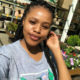 Natasha Thahane wears an ombre hairdo to her birthday dinner at Rockets