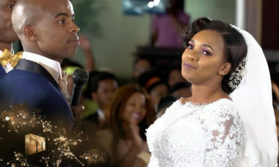 Our Perfect Wedding: Ayanda and Siyabonga exchange watches along with their rings