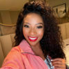 Pearl Modiadie showcases make-up look from the Metro FM Heatwave