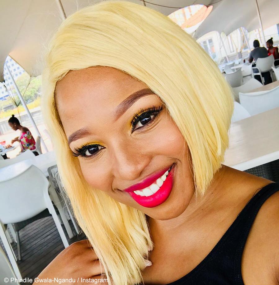 Phindile Gwala-Ngandu showcases first billboard for skincare