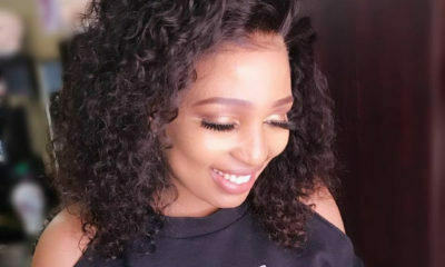 Phindile Gwala-Ngandu showcases her new short and curly hairdo