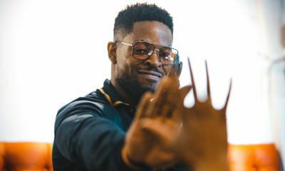 Prince Kaybee acknowledges fans in Taung for braving the rain during his set