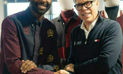 Riky Rick and Tommy Hilfiger