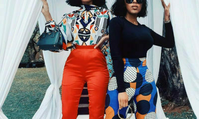 Kefilwe Mabote , Sarah Langa Mackay opt for figure-hugging trousers at the House of Fabrosanz fashion showcase