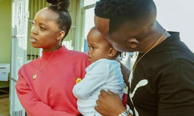 Junior De Rocka and Ntando Duma and their daughter's social media presence