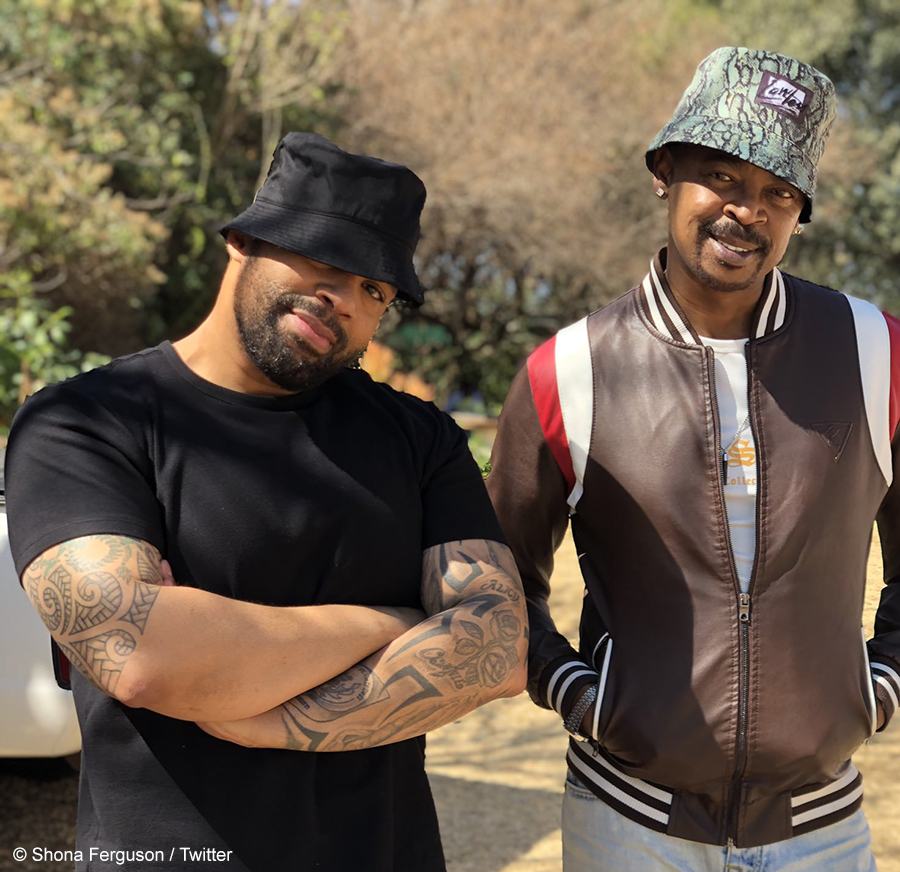 Shona Ferguson shares behind-the-scenes footage from upcoming series, Kings Of Jo'burg